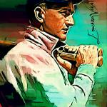 """Shoeless Joe Jackson #9 Art by Edward Vela"" by artofvela"