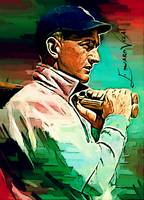 Shoeless Joe Jackson #9 Art by Edward Vela