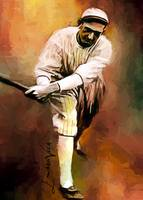Shoeless Joe Jackson #11 Art by Edward Vela