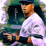 """Alex Rodriguez #5 Art by Edward Vela"" by artofvela"