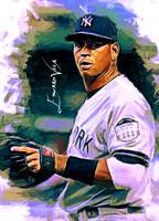 Alex Rodriguez #5 Art by Edward Vela