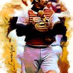 """Thurman Munson #7 Art by Edward Vela"" by artofvela"
