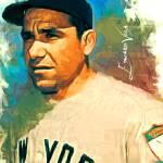 """""""Yogi Berra #9 Art by Edward Vela"""" by artofvela"""