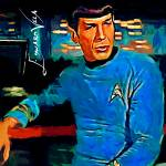 """Mr. Spock #4 Art by Edward Vela"" by artofvela"