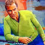 """Captain Kirk #4 Art by Edward Vela"" by artofvela"