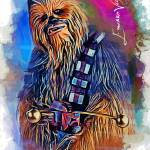 """Chewbacca #6 Art by Edward Vela"" by artofvela"