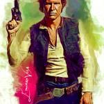 """""""Han Solo #5 Art by Edward Vela"""" by artofvela"""