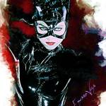 """Catwoman Art by Edward Vela"" by artofvela"