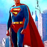 """Christopher Reeve Superman #3 Art by Edward Vela"" by artofvela"