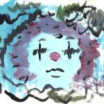 """""""WATER COLOR ART CHACHA THE CLOWN BY FEY"""" by feylibertad"""
