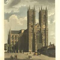 westminster-abbey Art Prints & Posters by William Claspy