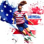 """Alex Morgan"" by taylansoyturk"