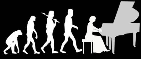 Картинки по запросу pianist evolution