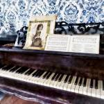 """Piano Closeup"" by susansartgallery"