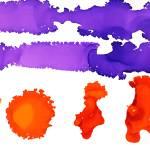 """""""Purple Orange"""" by kristenandersonart"""