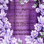 """Waltz Of The Flowers In Purple"" by IrinaSztukowski"