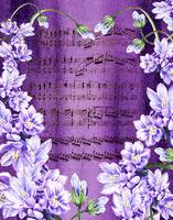 Waltz Of The Flowers In Purple