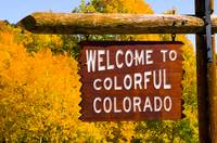 Welcome To Colorful Colorado by Marcus Panek