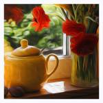 """""""Yellow in My Window"""" by Artsyroom"""