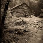"""Rustic Cabin"" by LarryBohlin"
