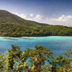 """Hawknest Bay Panorama, St John, US Virgin Islands"" by George_Oze"