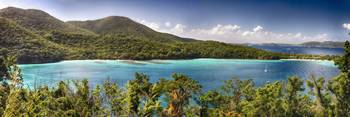 Hawknest Bay Panorama, St John, US Virgin Islands