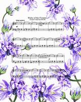 Waltz Of The Flowers Purple Dance