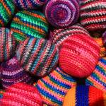 """Colorful Knit Balls"" by rhamm"