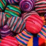 """Colorful Knit Balls"" by rhamm"