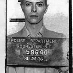 """David Bowie Mug Shot Vertical"" by RubinoFineArt"