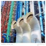 """""""Pompidou, 4:34 PM (11x11)"""" by mcconnico"""