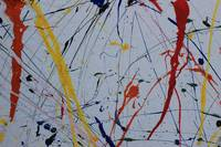 Splatters of Paint