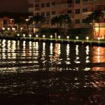 """""""Shimmering Lights on the Intercoastal Waterway"""" by RoupenBaker"""