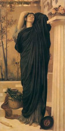 1869 Frederic Leighton - Electra at the Tomb of Ag