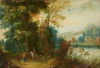 Flemish School, 17th century, Landscape with a Hor