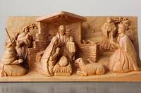 A Christmas Creche by George Wood