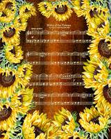 Waltz Of The Flowers Sunflower Dance