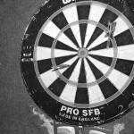 """Dartboard B&W"" by NickGB"