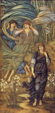 Sponsa de Libano by Edward Burne-Jones
