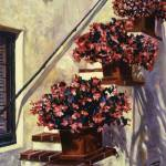 """THE BEGONIA STAIRS"" by DavidLloydGlover"