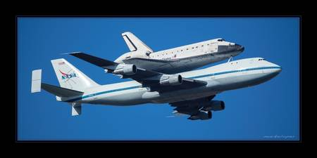 Space Shuttle Endeavor ferry flight to LA (1)