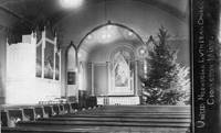 Interior of the United Norwegian Lutheran church