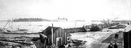 lumber mill camp near Bemidji