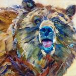 """Bear"" by jacquelinebrewerart"