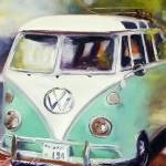 """Air Cooled"" by jacquelinebrewerart"