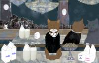 Manet's Cats