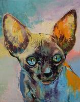 Sphynx Cat Portrait