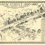 """""""Main Street Front Royal 1860-1880"""" by Bennecelli"""