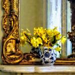 """Daffodils on Mantelpiece"" by susansartgallery"