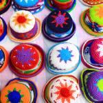"""Patterned Knit Hats"" by rhamm"